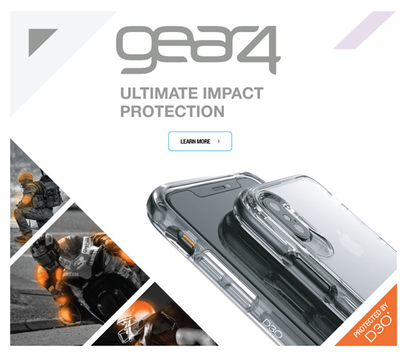 Gear4 Ultimate Impact Protection