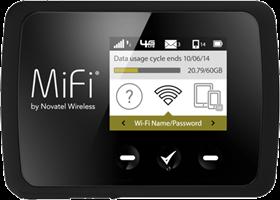Novatel Wireless MiFi 6620 Global Intelligent Mobile Hotspot