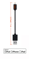 Uolo Link 1m Lightning Charge & Sync Cable